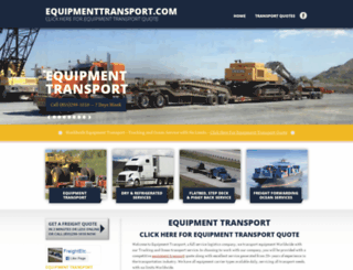 equipmenttransport.com screenshot