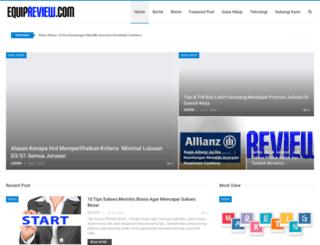 equipreview.com screenshot