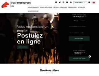 equiressources.fr screenshot
