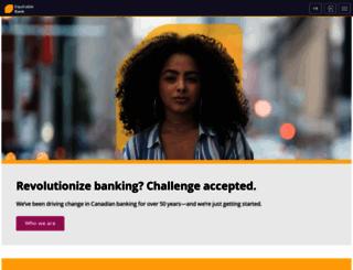 equitablebank.ca screenshot
