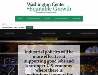 equitablegrowth.org screenshot