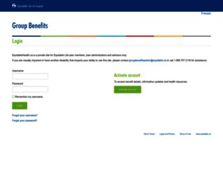 equitablehealth.ca screenshot
