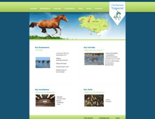 equitation-tregastel.com screenshot