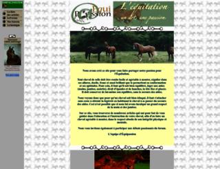 equitationpassion.free.fr screenshot