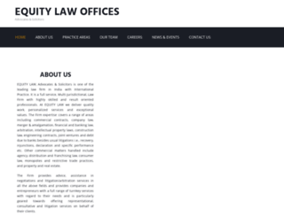 equitylaw.co.in screenshot