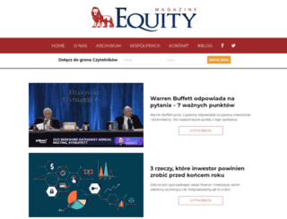 equitymagazine.pl screenshot