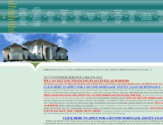 equityrefinancemortgageloans.ca screenshot