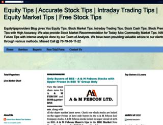 equitytipsproviders.blogspot.in screenshot