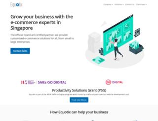 equotix.com screenshot