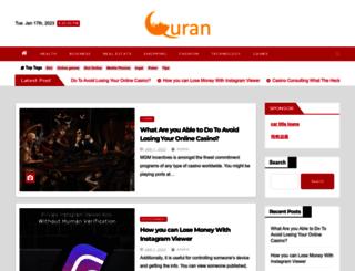 equranplayer.com screenshot