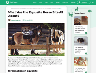 equusite.com screenshot