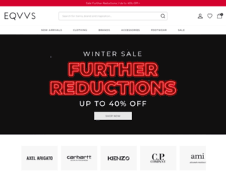 eqvvs.co.uk screenshot