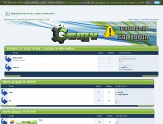 eradeglistudenti.forumfree.net screenshot