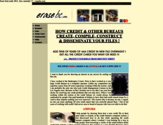 erasebc.com screenshot