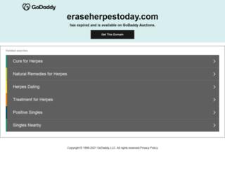 eraseherpestoday.com screenshot