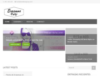 erasmus-gallery.com screenshot