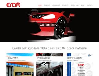 erax.it screenshot