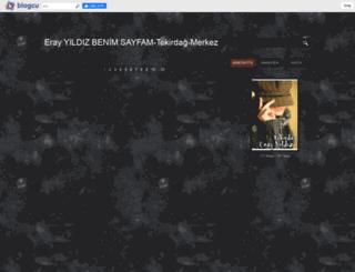 erayyildizbenimsayfam.blogcu.com screenshot