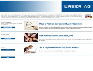 erber.easycruit.com screenshot