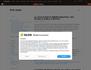 erbevoglio.myblog.it screenshot