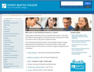 erc.northseattle.edu screenshot