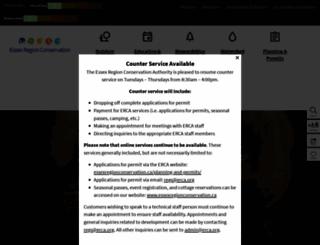 erca.org screenshot