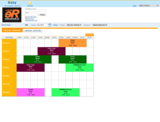 erclub.e-rezervace.cz screenshot