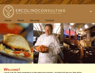 ercolinoconsulting.com screenshot