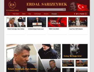 erdalsarizeybek.com.tr screenshot