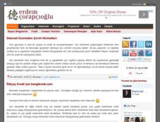 erdemcorapcioglu.com screenshot
