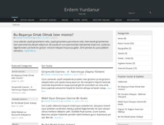 erdemyurdanur.com screenshot