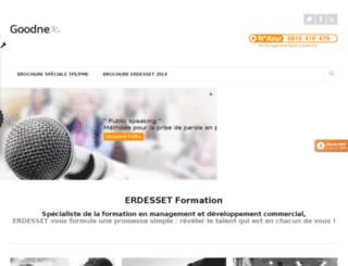 erdessetformation.fr screenshot