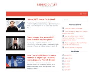 erdeszoutlet.com screenshot