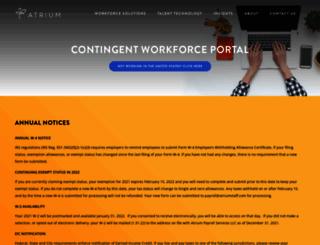 erecruit2.atriumeoffice.com screenshot