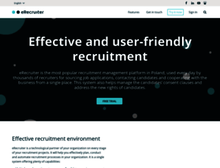 erecruiter.pl screenshot