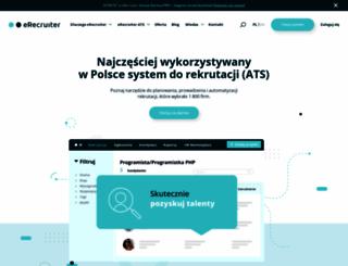 erecruiter.pl screenshot