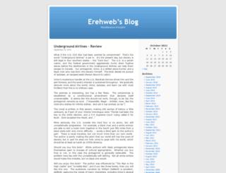erehweb.wordpress.com screenshot