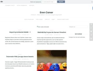 erencaner.com.tr screenshot