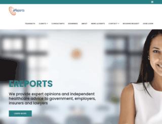 ereports.com.au screenshot