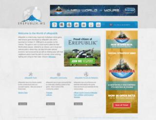 erepublik.ws screenshot