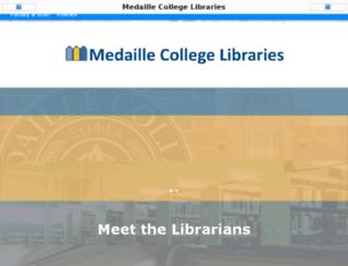 eres.medaille.edu screenshot