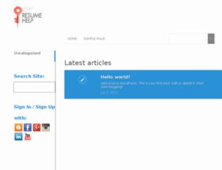 eresumetips.com screenshot
