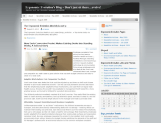 ergoguy.wordpress.com screenshot