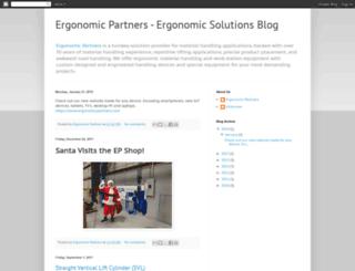 ergonomicpartners.blogspot.com screenshot