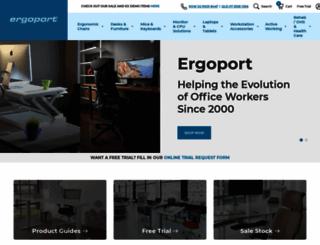ergoport.com.au screenshot