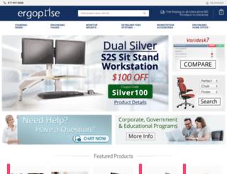 ergoprise.com screenshot