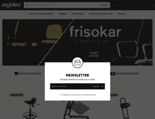 ergotec.com.br screenshot