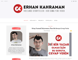 erhankahraman.com screenshot