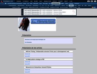 eric-pommereau.developpez.com screenshot