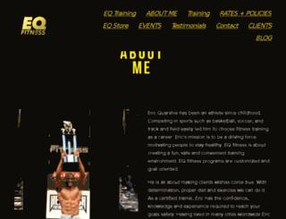 eric-quarshie.squarespace.com screenshot